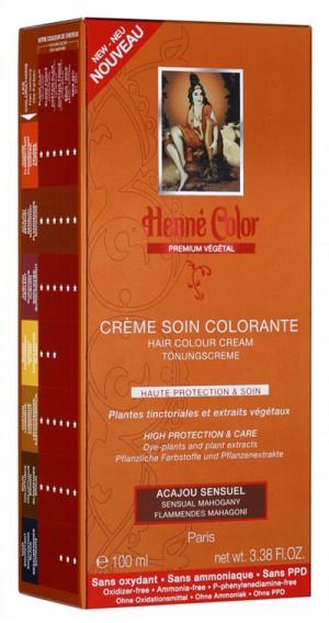 acajou sensuel - Coloration Cheveux Sans Ammoniaque Et Sans Oxydant