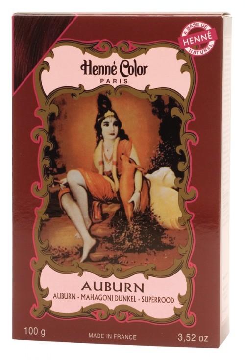 our henna hair colouring powders - Henn Color Auburn